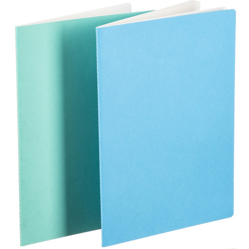 Hahnemühle Sketch & Note Booklet Bundle (Delphinium and Menthe Covers, A4, 20 Sheets Each)