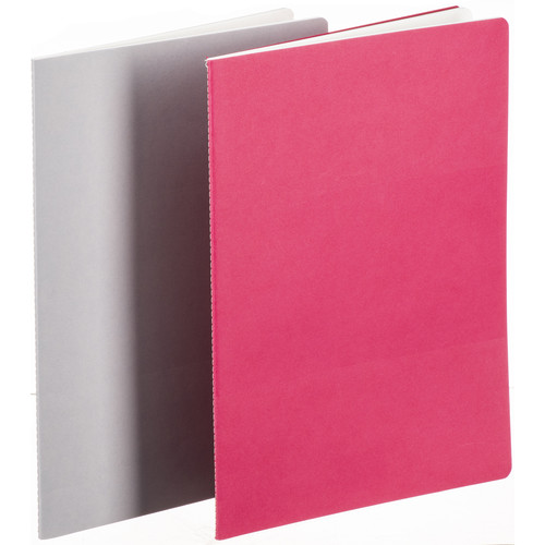Hahnemühle Sketch & Note Booklet Bundle (A4, 40 Sheets, Gray and Pink)