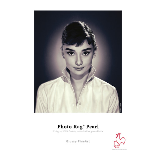 """Hahnemühle Photo Rag Pearl Paper for 12 x 12"""" Album Covers (20 Sheets, 12 x 12"""")"""