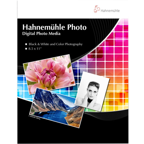 "Hahnemühle Fine Art Inkjet Photo Paper Sample Pack (8.5 x 11"", 14 Sheets)"