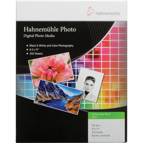 "Hahnemühle Photo Pearl 310 Paper (8.5 x 11"", 250 Sheets)"