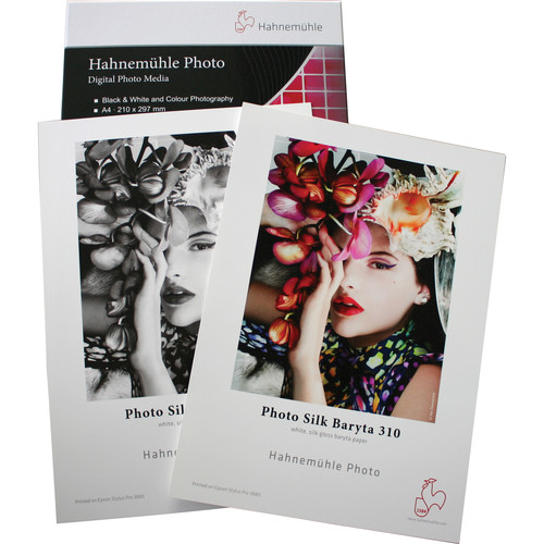 "Hahnemühle Photo Silk Baryta 310 Inkjet Paper (8.5 x 11"", 25 Sheets)"