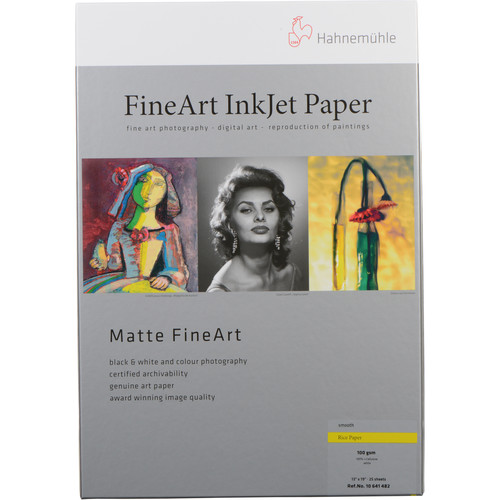 """Hahnemühle Rice Paper (13 x 19"""", 25 Sheets)"""