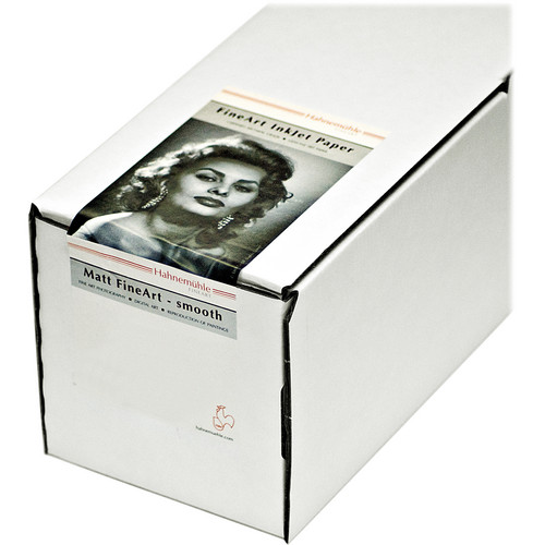 "Hahnem�hle Photo Rag Ultra Smooth Matte FineArt Inkjet Roll Paper (24.0"" x 49.0')"