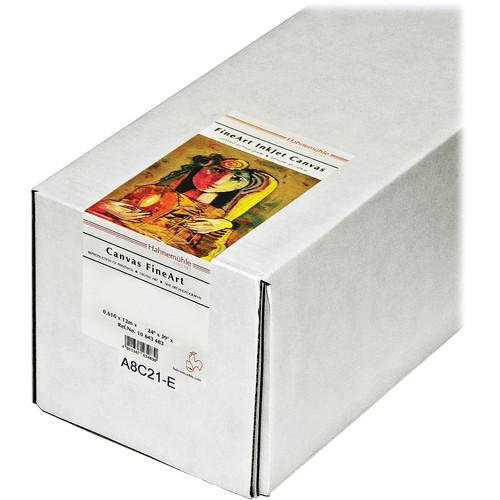 """Hahnem�hle Leonardo Canvas FineArt Archival Inkjet Roll Paper (60"""" x 39')"""