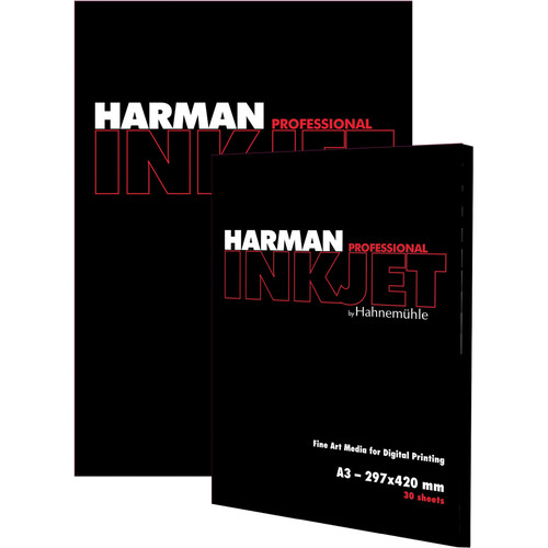 "Harman By Hahnemuhle Matt Fibre Duo Paper (13 x 19"", 30 Sheets)"