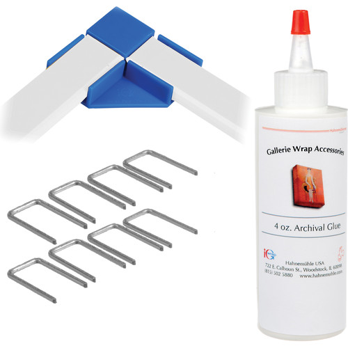 "Hahnemühle Standard Gallerie Wrap System with Positioning Corners (8"" Bars, 8-Pack)"