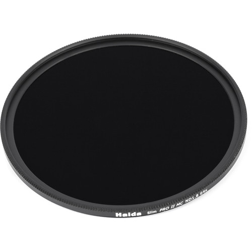 Haida 62mm Slim Pro II Solid Neutral Density 1.8 Filter (6 Stops)
