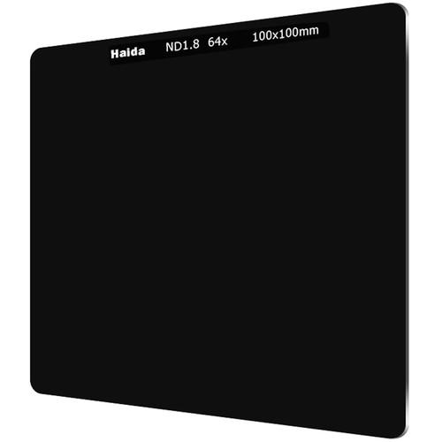 Haida 100 x 100mm Solid Neutral Density 1.8 Filter (6-Stop)