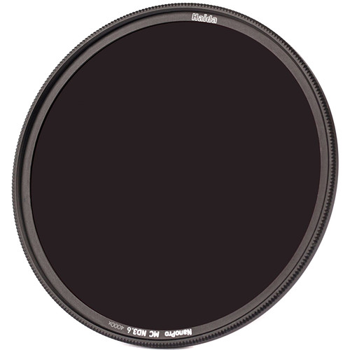 Haida 49mm NanoPro MC Solid Neutral Density 3.6 Filter (12 Stops)