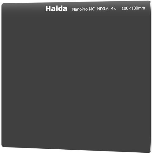 Haida 100 x 100mm NanoPro MC Solid Neutral Density 0.6 Filter (2-Stop)