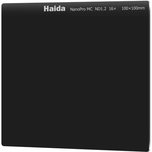 Haida 100 x 100mm NanoPro MC Solid Neutral Density 1.2 Filter (4-Stop)