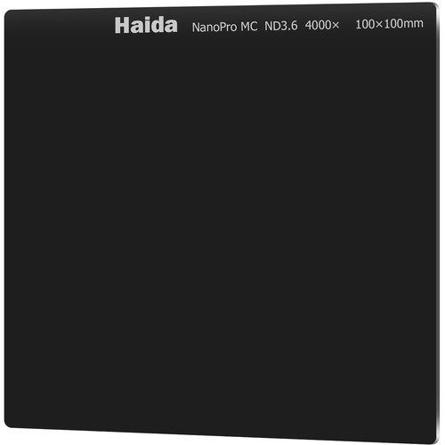 Haida 100 x 100mm NanoPro MC Solid Neutral Density 3.6 Filter (12-Stop)