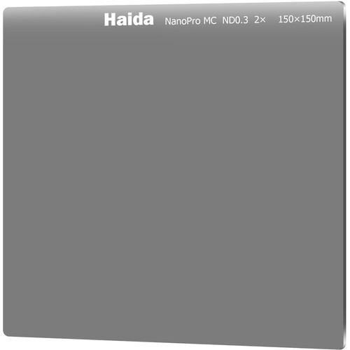 Haida 150 x 150mm NanoPro MC ND 0.3 Filter (1 Stop)