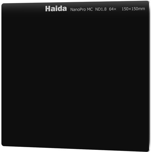 Haida 150 x 150mm NanoPro MC ND 1.8 Filter (6 Stops)