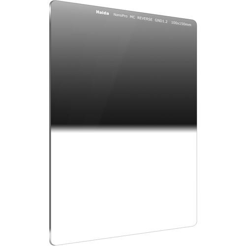 Haida 100 x 150mm NanoPro MC Reverse Graduated 1.2 ND Optical Glass Filter