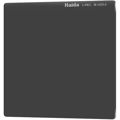 "Haida 4 x 4"" V-Pro Series Multi-Coated Infrared Neutral Density 0.6 Filter (Glass)"