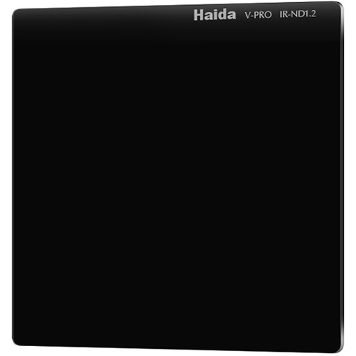 "Haida 4 x 4"" V-Pro Series Multi-Coated Infrared Neutral Density 1.2 Filter (Glass)"