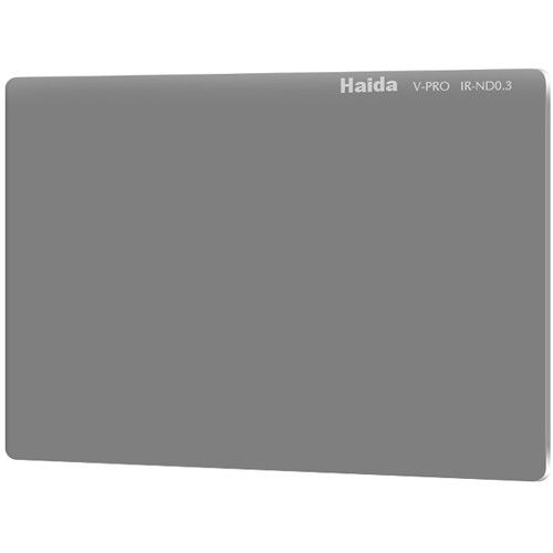 "Haida 4 x 5.65"" V-Pro Series Multi-Coated Infrared Neutral Density 0.3 Filter (Glass)"