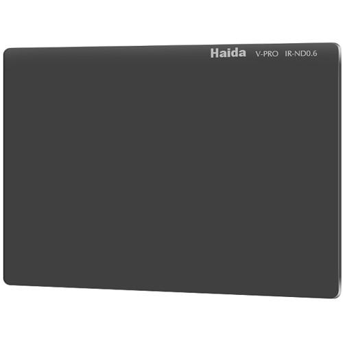 "Haida 4 x 5.65"" V-Pro Series Multi-Coated Infrared Neutral Density 0.6 Filter (Glass)"