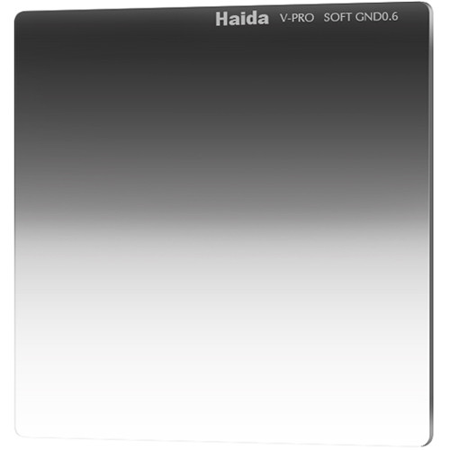 "Haida 4 x 4"" V-Pro Series Multi-Coated Soft Graduated 0.6 Neutral Density Filter"