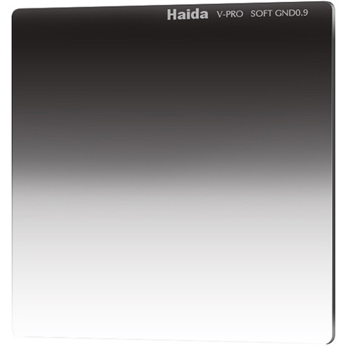 "Haida 4 x 4"" V-Pro Series Multi-Coated Soft Graduated 0.9 Neutral Density Filter"