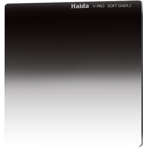 "Haida 4 x 4"" V-Pro Series Multi-Coated Soft Graduated 1.2 Neutral Density Filter"