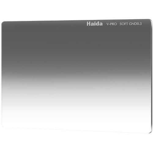 "Haida 4 x 5.65"" V-Pro Series Multi-Coated Soft Graduated 0.3 Neutral Density Filter"