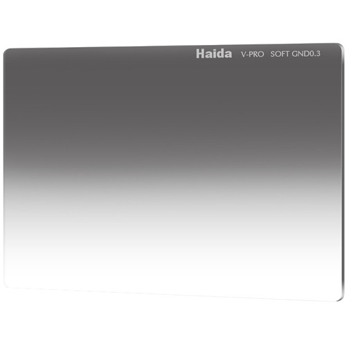 "Haida 4 x 5.65"" Multi-Coated Soft Graduated 0.3 Neutral Density Filter for V-Pro Series"