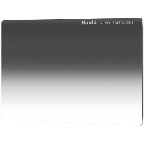 "Haida 4 x 5.65"" V-Pro Series Multi-Coated Soft Graduated 0.6 Neutral Density Filter"