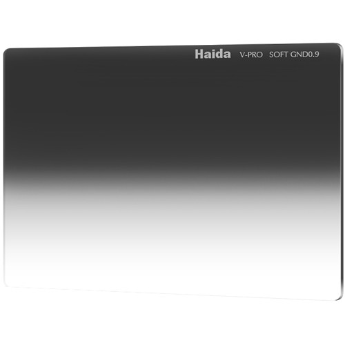 "Haida 4 x 5.65"" V-Pro Series Multi-Coated Soft Graduated 0.9 Neutral Density Filter"