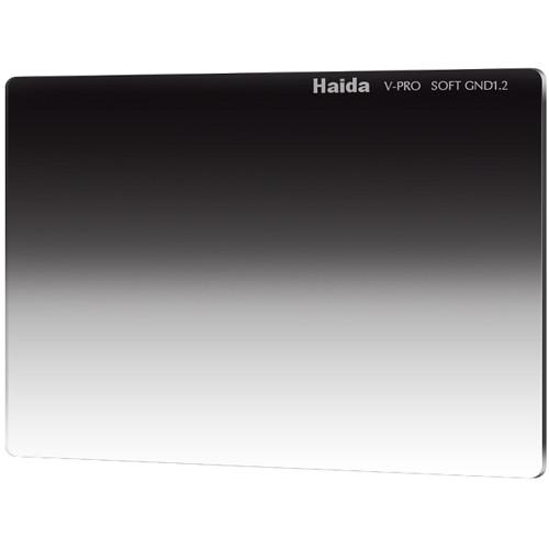 "Haida 4 x 5.65"" V-Pro Series Multi-Coated Soft Graduated 1.2 Neutral Density Filter"