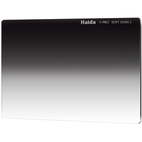 "Haida 4 x 5.65"" V-Pro Series Multi-Coated Soft Graduated 1.2 Neutral Density Filter"