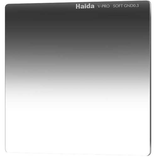 "Haida 6.6 x 6.6"" V-Pro Series Multi-Coated Soft Graduated 0.3 Neutral Density Filter"