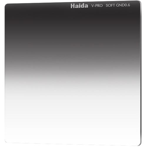 "Haida 6.6 x 6.6"" V-Pro Series Multi-Coated Soft Graduated 0.6 Neutral Density Filter"