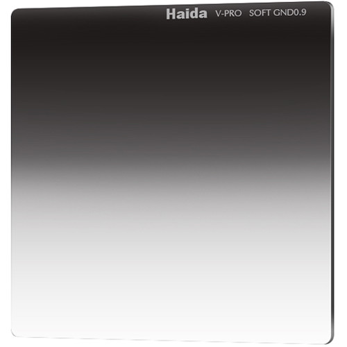 "Haida 6.6 x 6.6"" V-Pro Series Multi-Coated Soft Graduated 0.9 Neutral Density Filter"