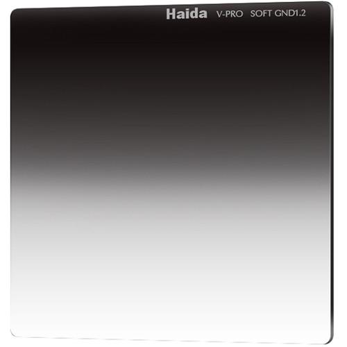 "Haida 6.6 x 6.6"" V-Pro Series Multi-Coated Soft Graduated 1.2 Neutral Density Filter"