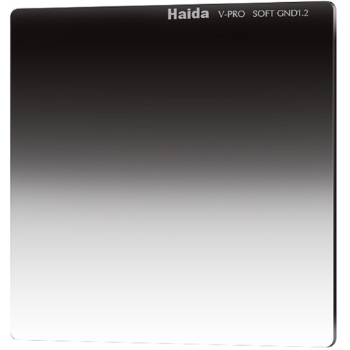 "Haida 6.6 x 6.6"" V-Pro Series Multi-Coated Soft Graduated 1.2 Neutral Density Filter"