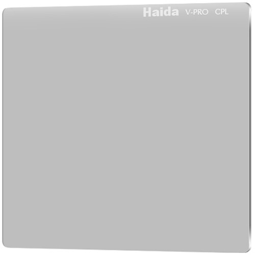 "Haida 4 x 4"" V-Pro Series C-POL Polarizing Filter (Optical Glass, 4mm Thick)"