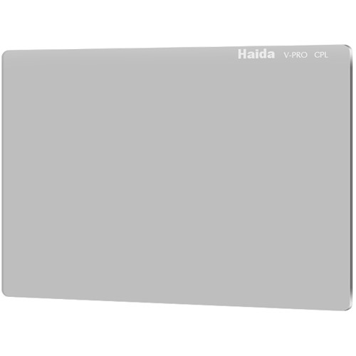 "Haida 4 x 5.65"" V-Pro Series C-POL Polarizing Filter (Optical Glass, 4mm Thick)"