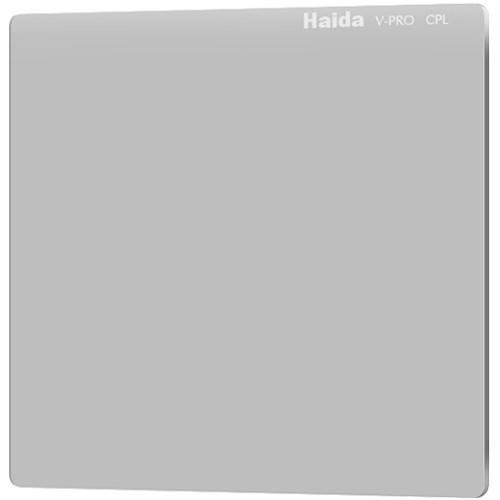"Haida 6.6 x 6.6"" V-Pro Series C-POL Polarizing Filter (Optical Glass, 4mm Thick)"