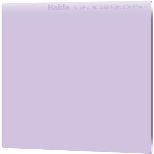 "Haida 100x100mm/4x4"" Nanopro MC Optical Glass/  Clear-Night Filter"