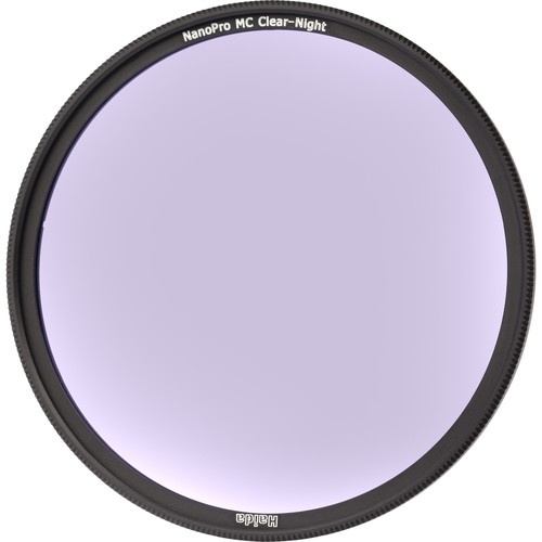 Haida 62mm Nanopro MC Optical Glass/  Clear-Night Filter