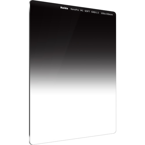 Haida 100 x 150mm NanoPro MC Soft Grad ND1.5 Optical Glass Filter