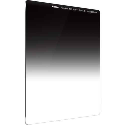 Haida 150 x 170mm NanoPro MC Soft Edge Graduated 1.5 Neutral Density Filter