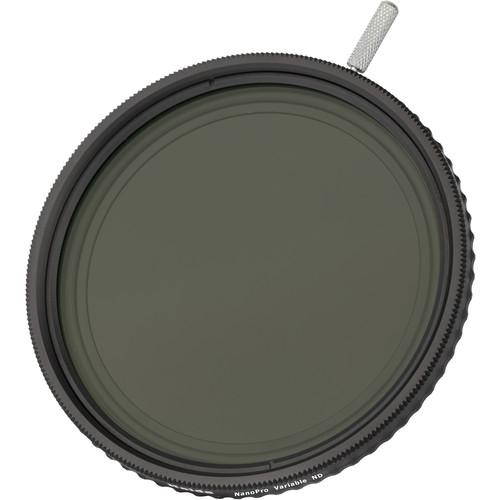 Haida 77mm NanoPro Variable Neutral Density 1.2 to 2.7 Filter (4 to 9-Stop)