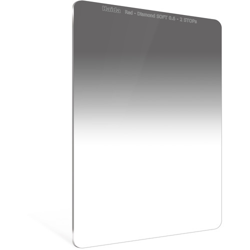 Haida 100 x 150mm Red Diamond Soft-Edge Graduated Neutral Density 0.6 Filter (2-Stop)