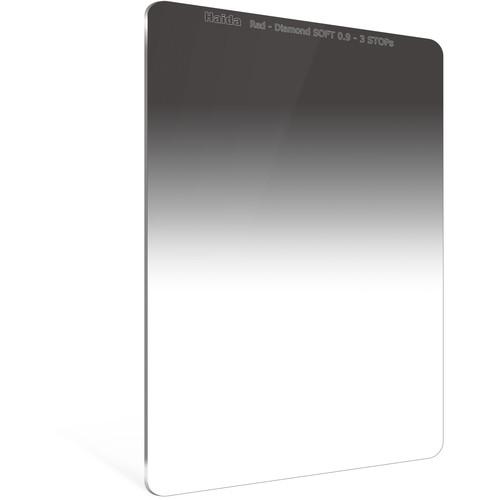 Haida 100 x 150mm Red Diamond Soft-Edge Graduated Neutral Density 0.9 Filter (3-Stop)