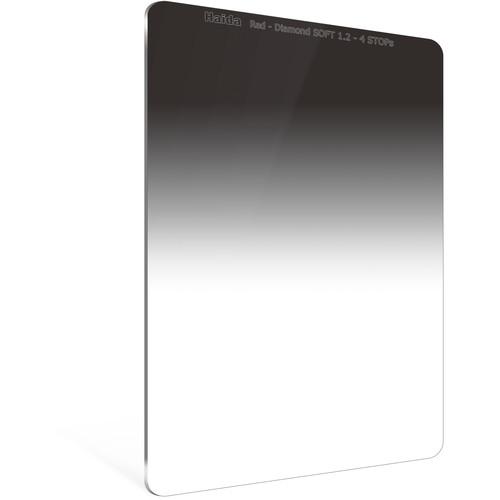 Haida 100 x 150mm Red Diamond Soft-Edge Graduated Neutral Density 1.2 Filter (4-Stop)