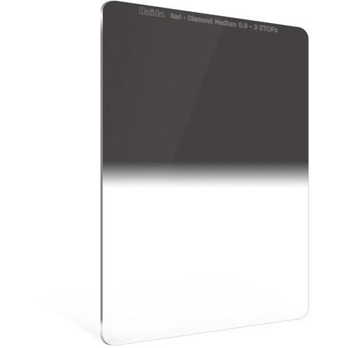 Haida 100 x 150mm Red Diamond Medium-Edge Graduated Neutral Density 0.9 Filter (3-Stop)